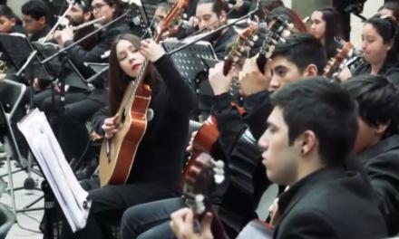 Brillante presentación de la Orquesta Juvenil en el Palacio de La Moneda