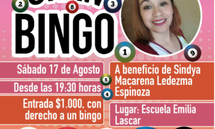 Sábado 17  gran Bingo a beneficio